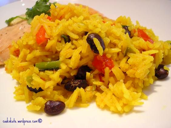 Mexican Yellow Rice Latin yellow rice recipes — dishmaps