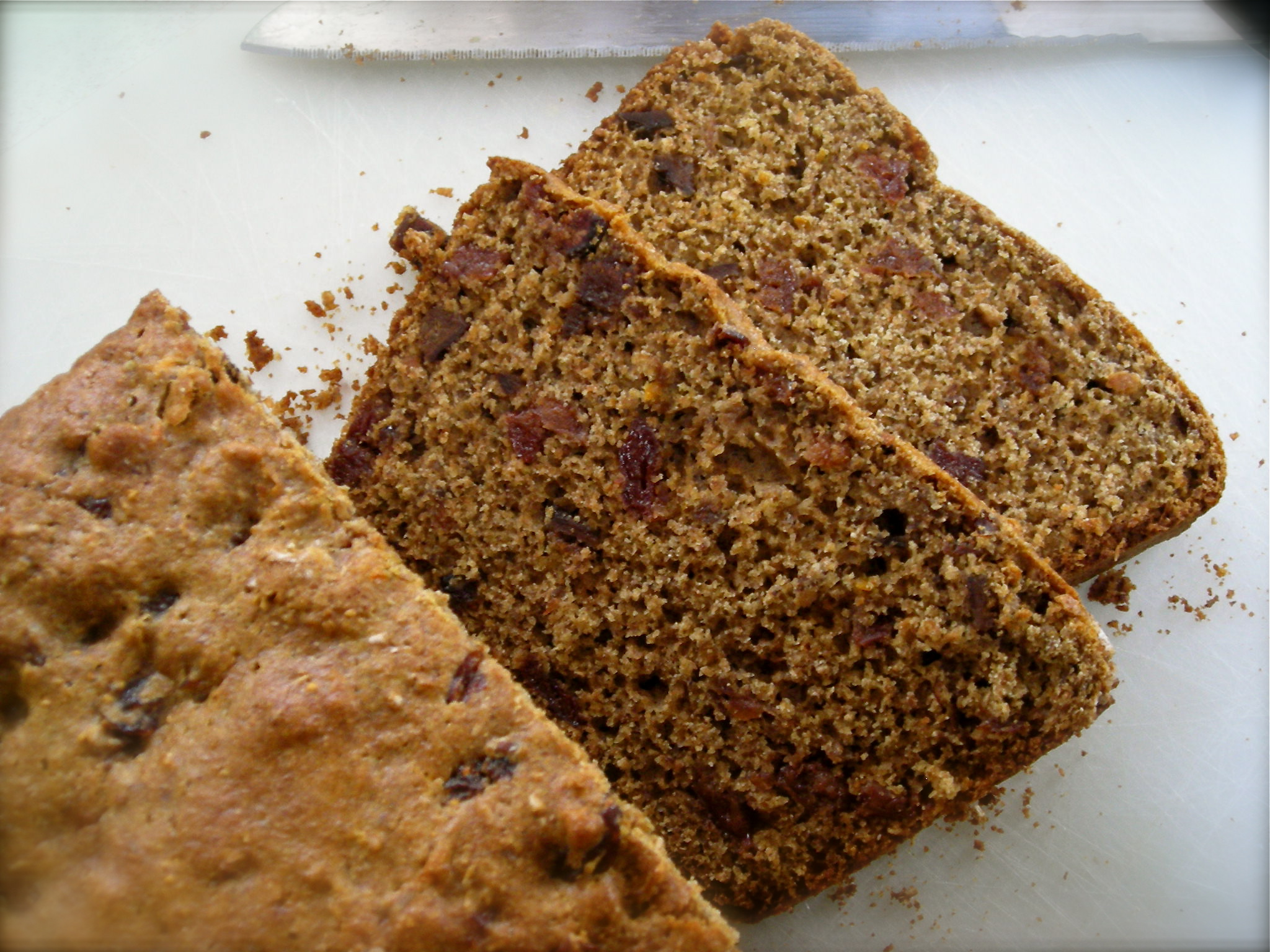 Kate in the Kitchen — cherry-fig tea bread