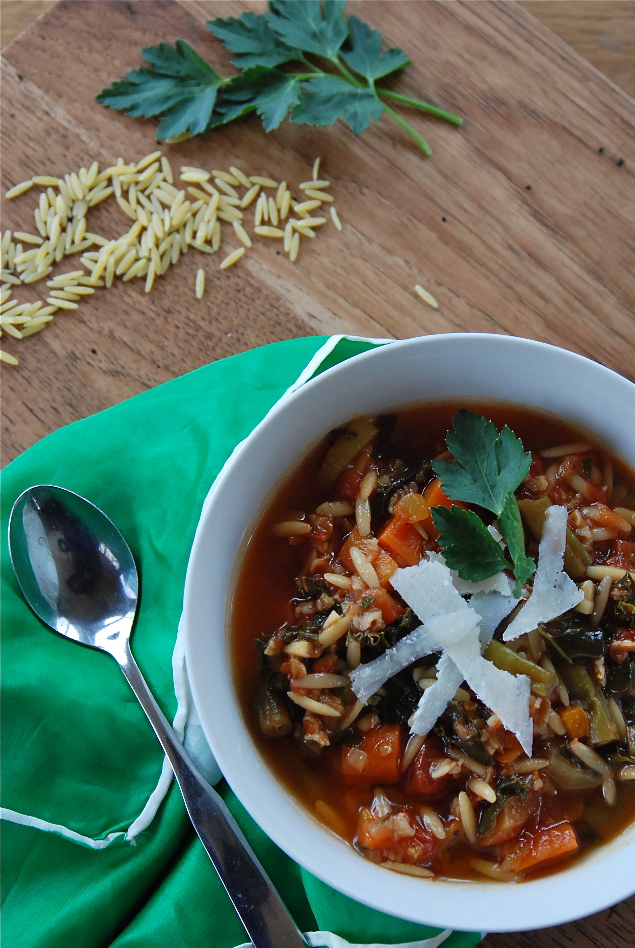Kate in the Kitchen — intensely perfect minestrone