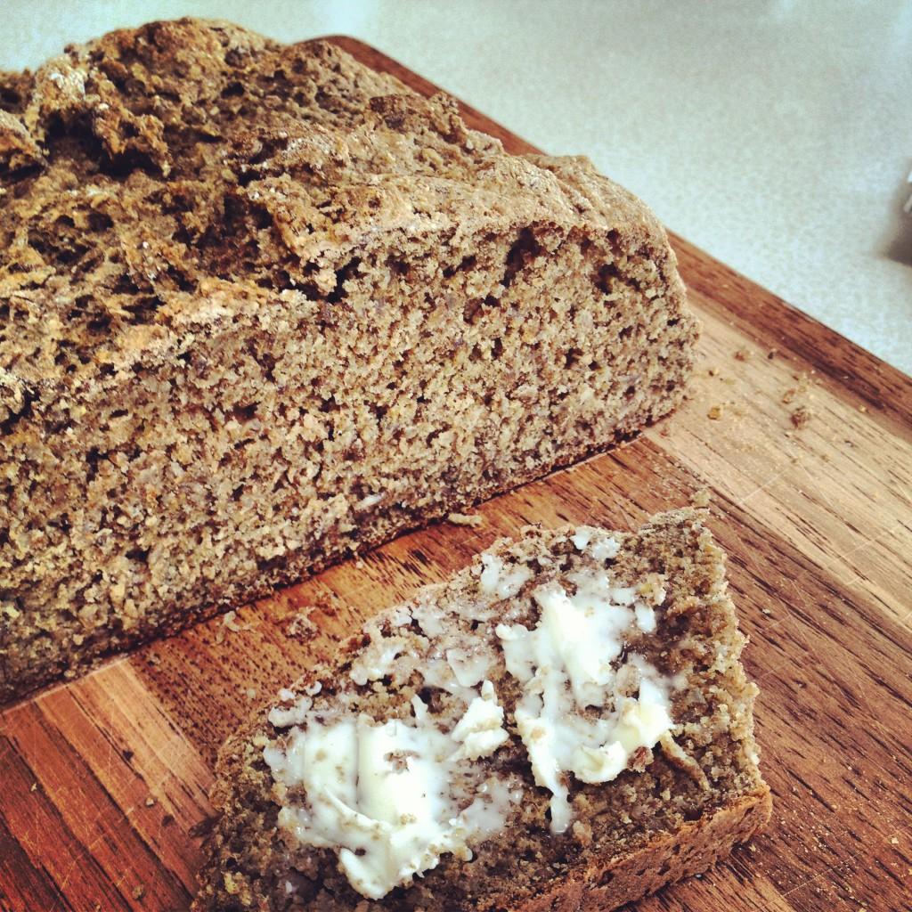 Kate in the Kitchen — whole wheat irish soda bread with bulgur