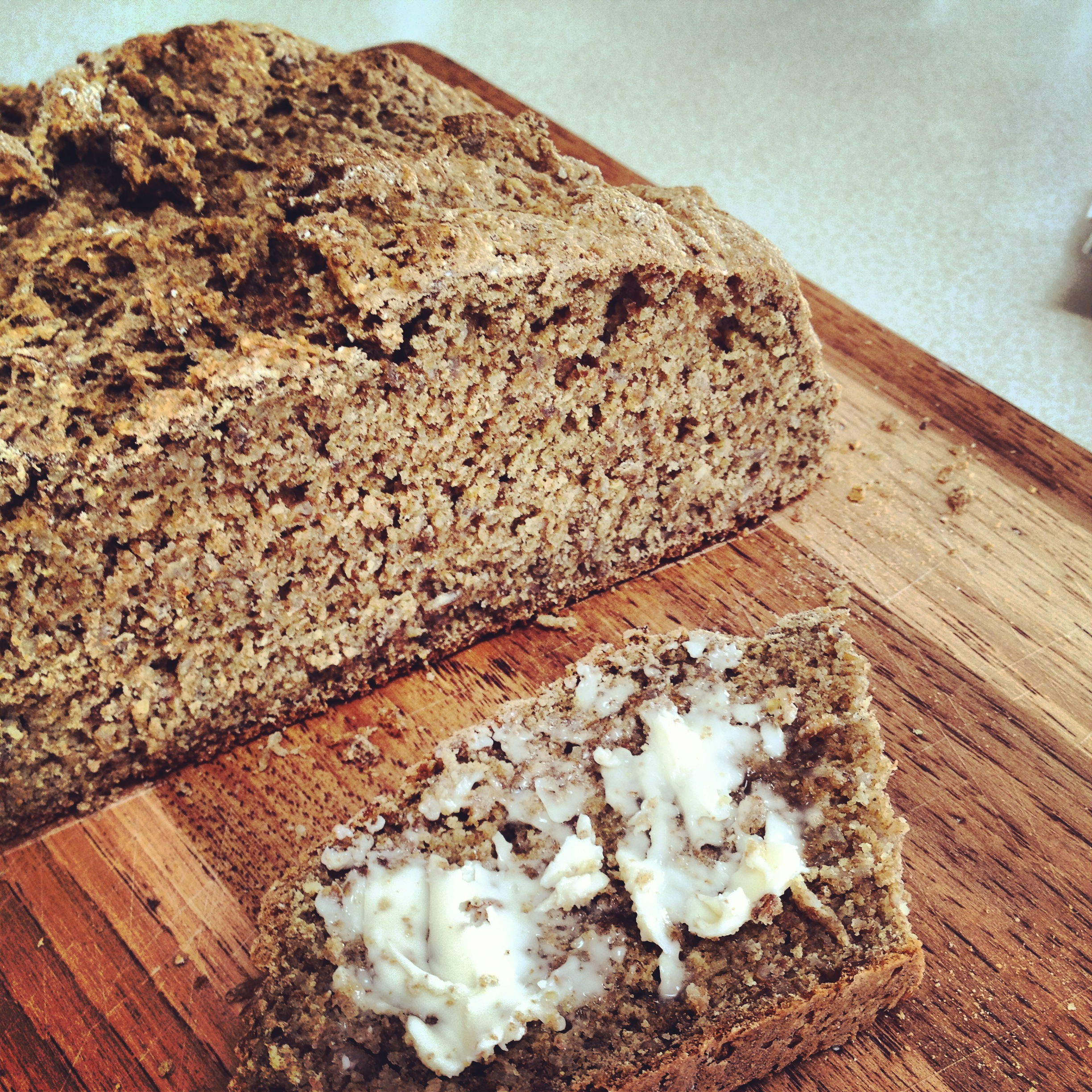 Kate in the Kitchen — whole wheat irish soda bread with bulgur